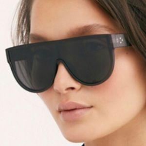 Free people black noir sunglasses